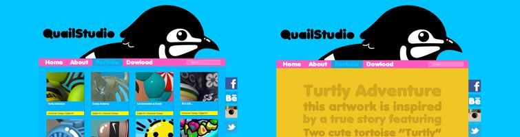 QuailStudio Version 1.0 website