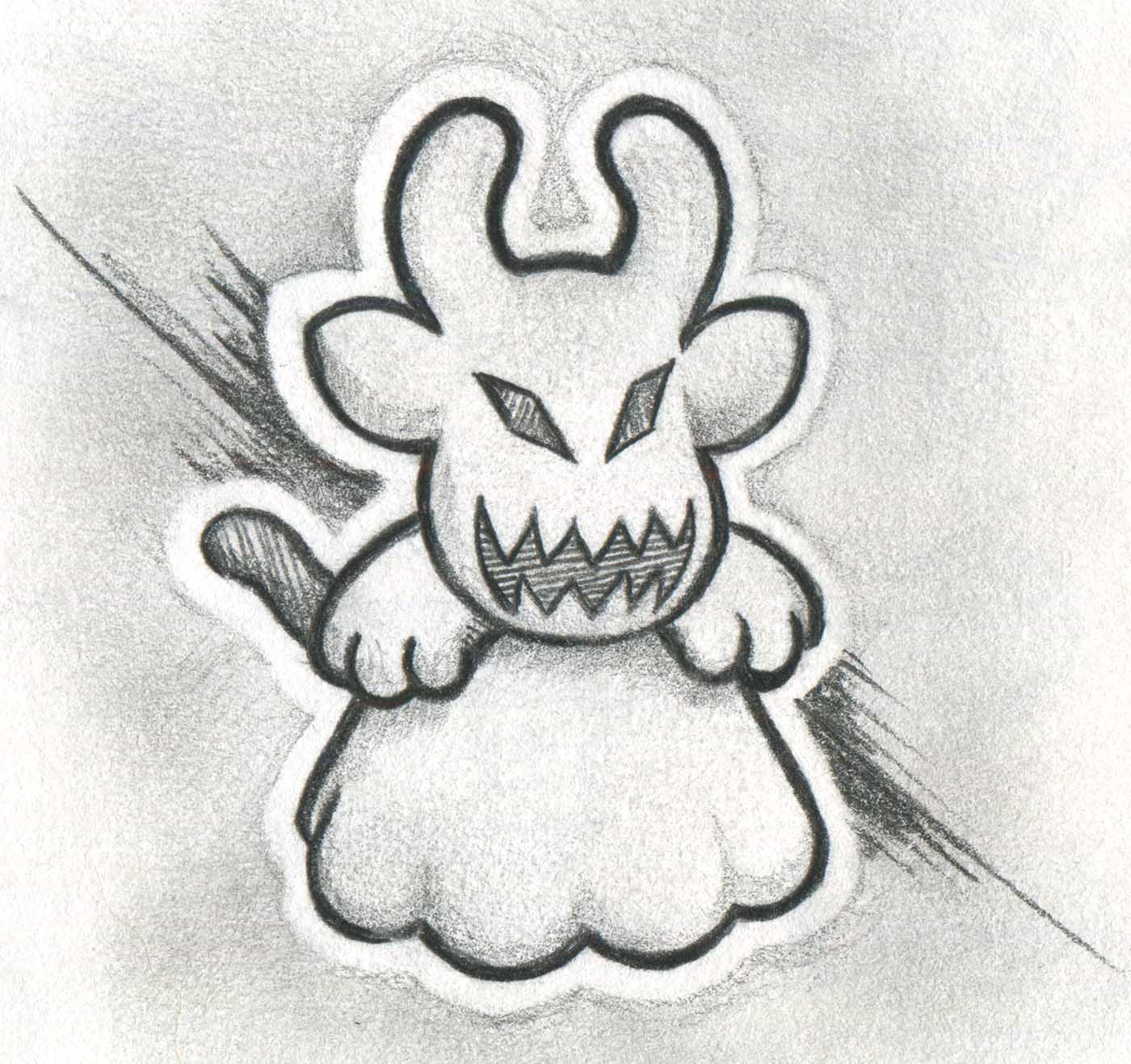 Ghost Cowly Sketche