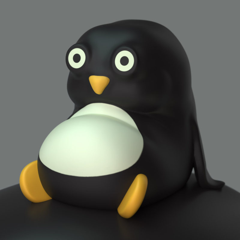 Pedro & Penguin 3D Render by QuailStudio