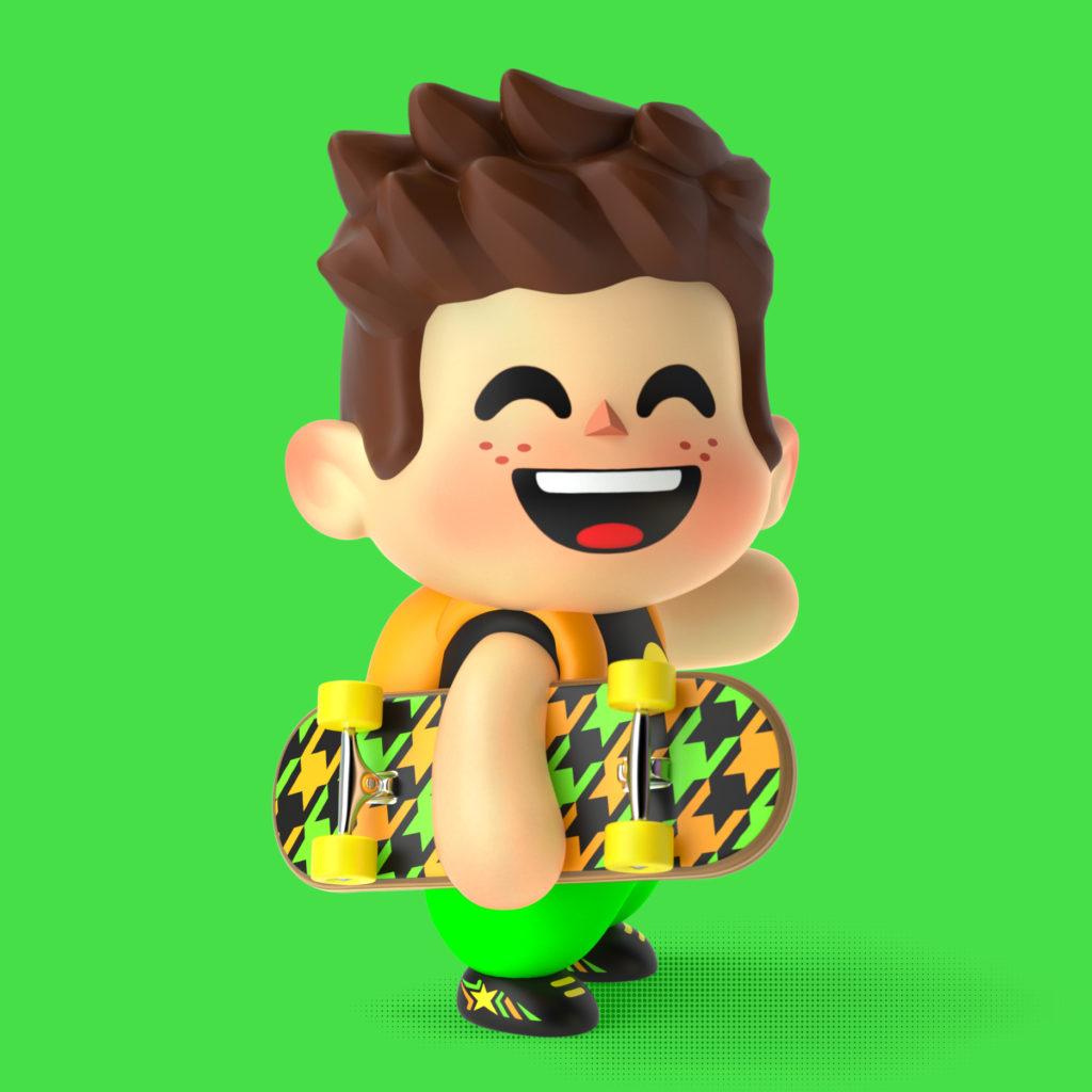 Smiley Kay render