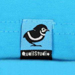 QuailStudio T-shirt Tag