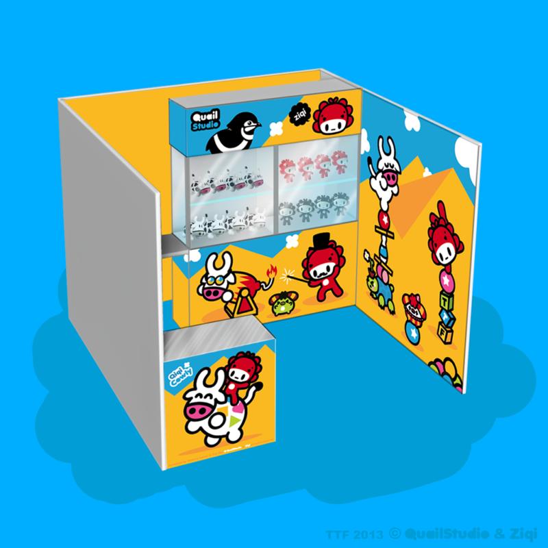Concept du Stand pour le festival du jouet 2013 à Taipei